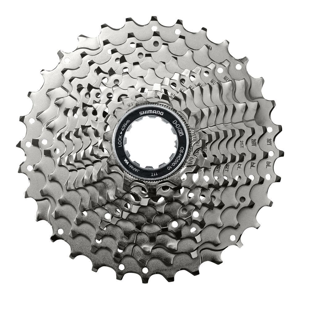 New Shimano Deore M6000 Cs Hg500-10 Mountain Bike Flywheel Mtb Hg500 10 Cassette Sporting Goods Cassettes, Freewheels & Cogs