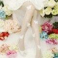 El nuevo y exclusivo Medias mariposa tridimensional perla medias Moda Mujeres niñas leotardos