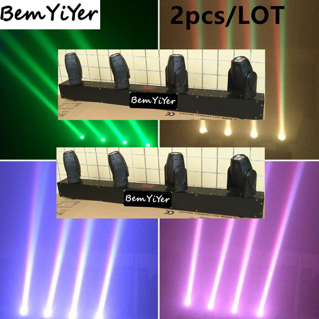 2pcslot cree colors 4x10 watt led beam bar mini moving head light 2pcslot cree colors 4x10 watt led beam bar mini moving head light aloadofball Image collections
