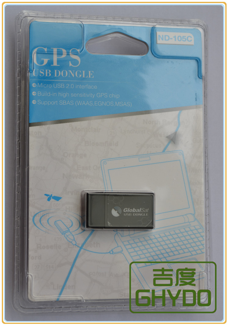 Selo original brandnew globalsat autorizado 105c nd-105c nd100s avançado mini-rato g tablet usb dongle micro usb receptor gps