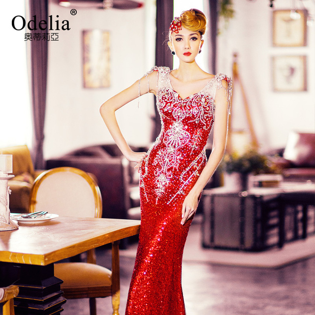 Glamorous Evening Gowns with Bling – Fashion dresses