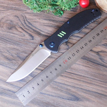 58-60HRC Ganzo G7501 440C G10 or Carbon Fiber Handle Folding knife Survival Camping tool Pocket Knife tactical edc outdoor tool