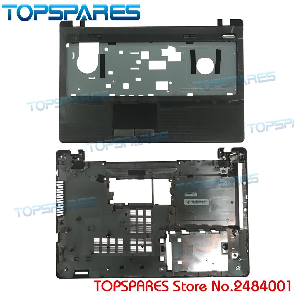 New Original Laptop Upper Palmrest Touchpad&Bottom Base Cover For ASUS K53U K53B X53U K53T K53T K53 X53B Shell AP0K3000200