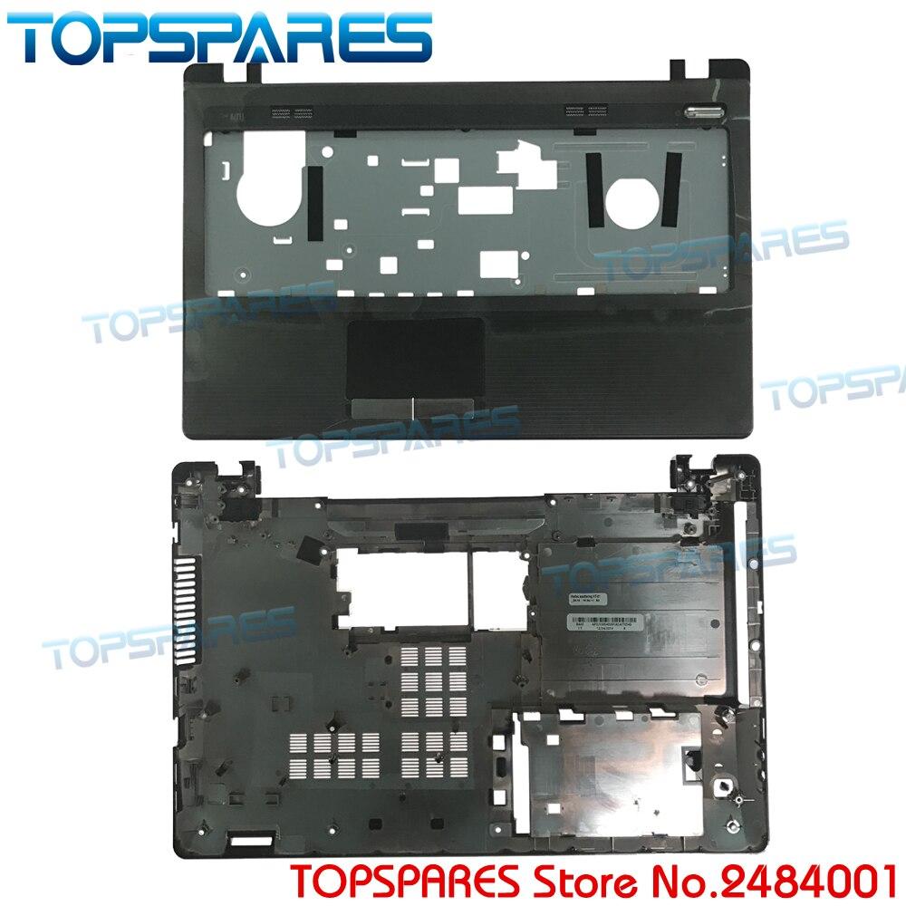 Nouvel Ordinateur Portable Supérieur Repose-poignets Touchpad & Bottom Couverture De Base Pour ASUS K53U K53B X53U K53T K53TA K53TK K53 X53B Shell AP0K3000200