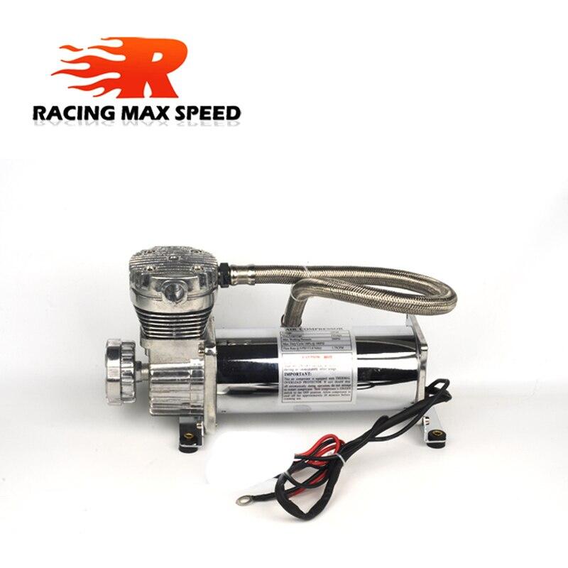 범용 dc 12 v 480c maxpower 200 psi 콘센트 3/8 또는 1/4 자동차 에어 서스펜션 압축기/펌프