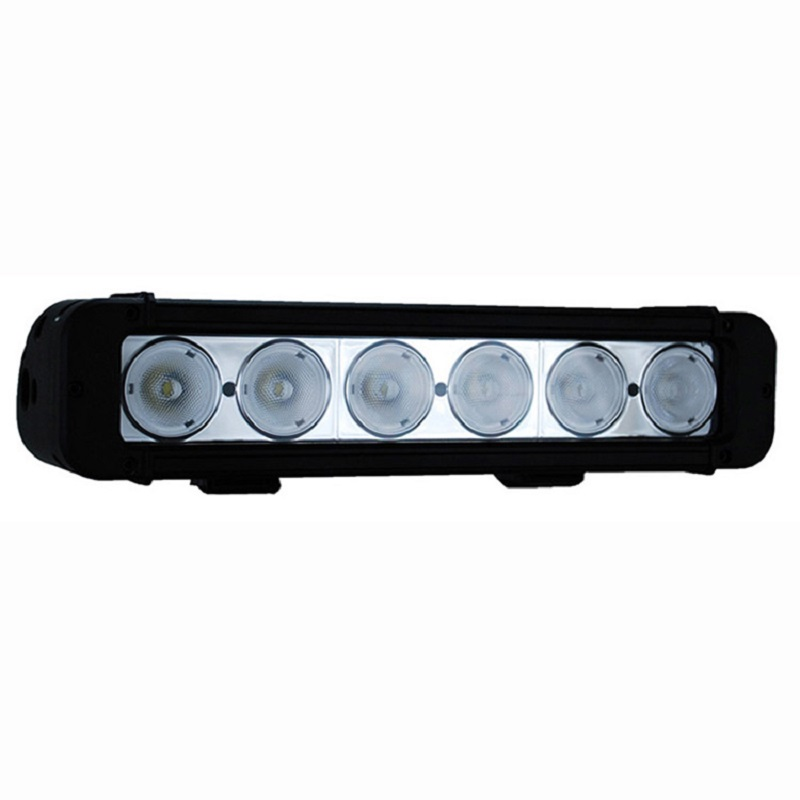 LED Light Bar  60W 17.2inch LED Bar Single-row Work Light with LED Chips for Offroad Truck atv autocycle 4x4 4WD ATV SUV 12V 24v new 15 inch single row 12 3w 36w led light bar for offroad 4 4 suv atv tractor