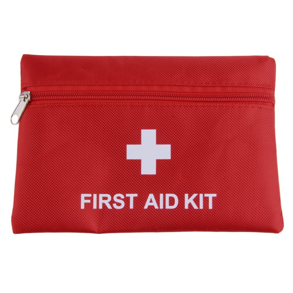 1.4L First Aid Kit Emergency Medical First aid kit Bag For Camping Waterproof Car kits bag Outdoor Travel Survival kit Empty bag stripe pattern off shoulder long sleeves waist tie playsuit with tassel detail page 7
