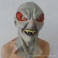 Halloween Horror masker bar levert bal jurk up de hele Baotou alien head
