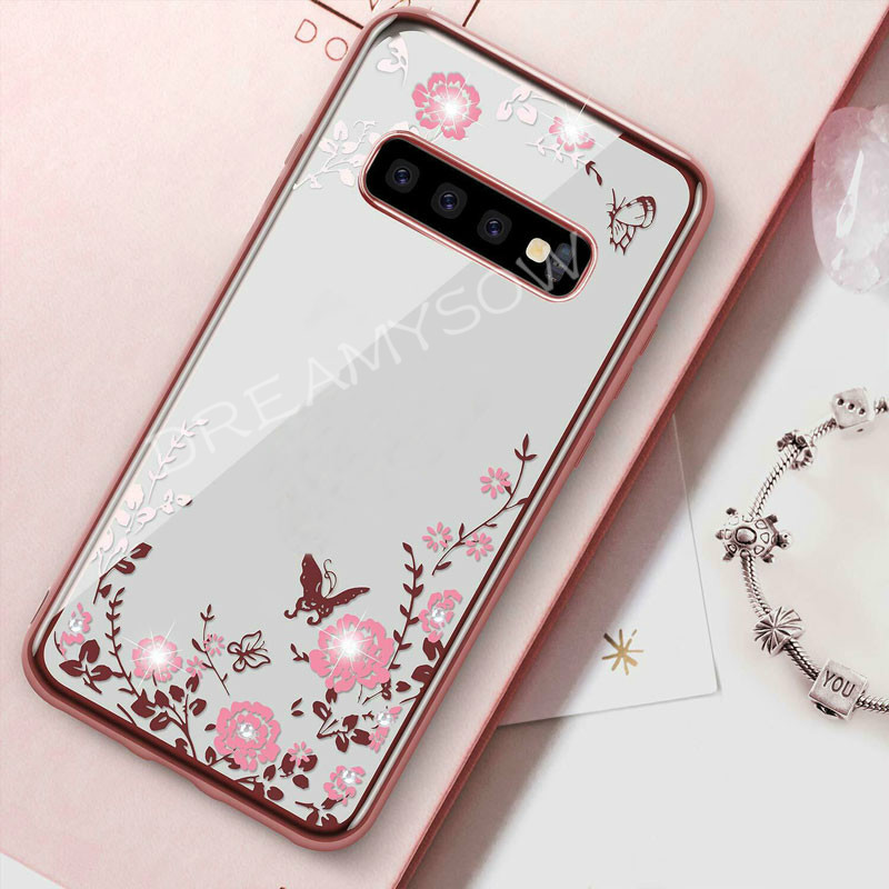 Secret Flower Silicone Phone Case for Samsung Galaxy A2 Core A70 A60 A40 A30 A50 M20 M10 A10 S8 S9 S10 E Plus Cover For A7 2018