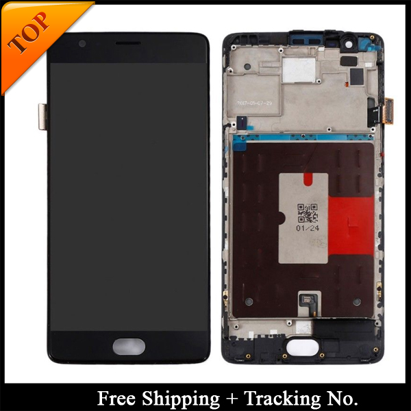 Grade AAA For Oneplus3 LCD Display For oneplus 3T LCD for oneplus 3 A3000 Display LCD