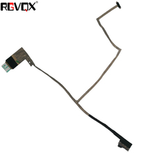цена на NEW Laptop Notebook LED/LCD Cable Replacement for ASUS A45 K45 A85 R400 Button PN: DC02001G020