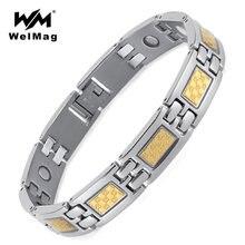 Магнитный терапевтический браслет welmag Германия мужские браслеты
