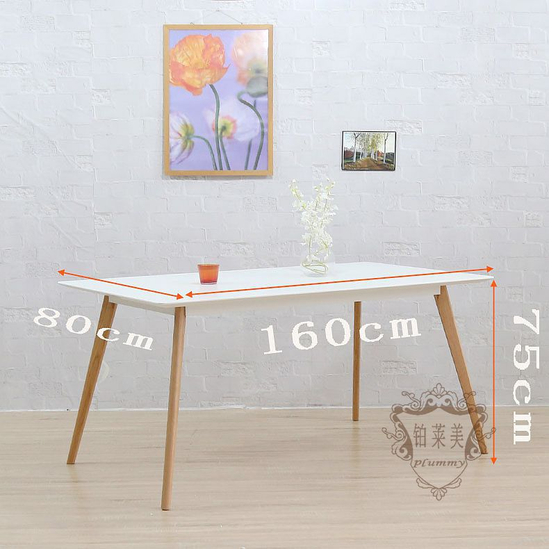 platinum levin us nordic 16 m wood rectangular table designer furniture creative office conference table ikea dining table in nail tables from furniture on