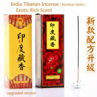 A rich combination of india,tibetan incense(with bamboo sticks).25 packsx8 sticks per pack.25cm.Small inner pack easy to carry.