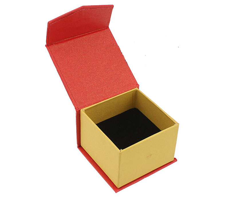 Free shipping High Quality Box For Jewelry wholesale 100pcs /lot White Ring Display Boxes Earring Packaging Box Gift Jewelry Box
