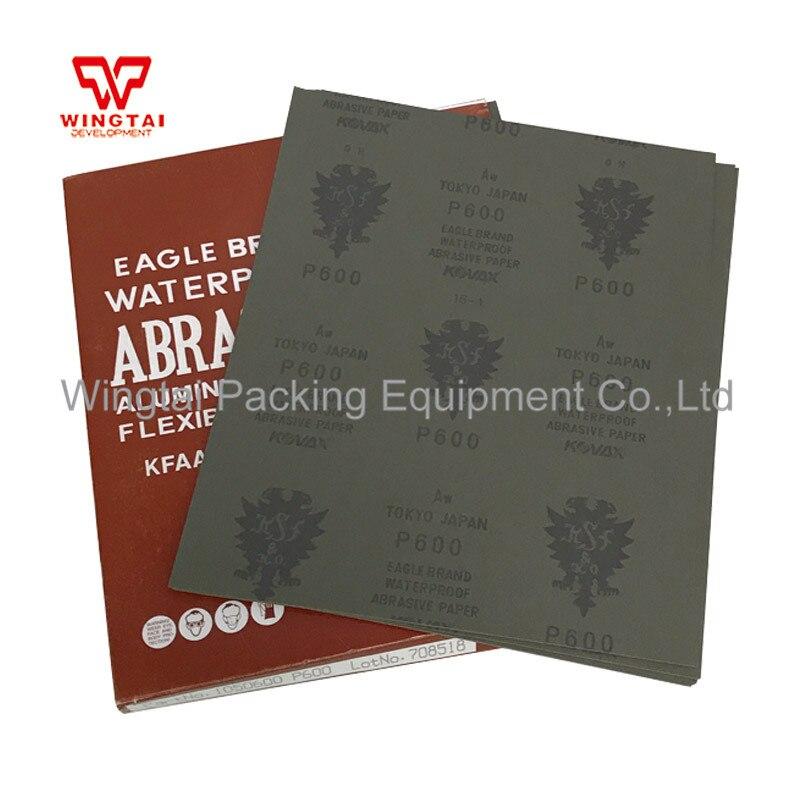 Emery Cloth Sanding Paper Waterproof  Metalworking Sanding Sheet/Mold Polishing tool/Fine Grit Sandpaper