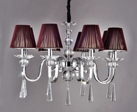 Multiple Chandelier Fashion crystal light dining room light 8 brief lighting lamps ZZP