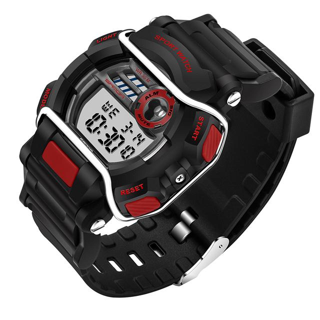2016 Nova Marca SANDA Moda Relógio Estilo Militar Relógios À Prova D' Água Esportes Dos Homens G Choque dos homens Luxo Quartzo Analógico Digital relógio