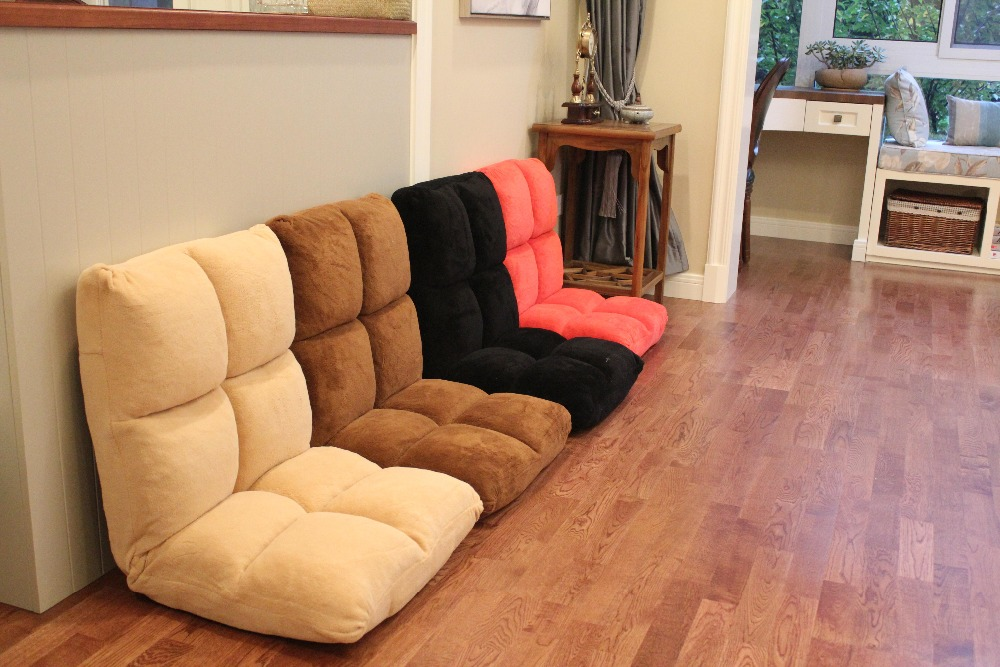 Japanese Floor Relax Chair 4 Color Living Room Folding Furniture Lovely Reclining Zaisu Seat Lazy Recliner Leisure Relax Chair relax sofa chair living room furniture floor adjustable sofa chair reclining chaise lounge modern fashion leisure recliner chair