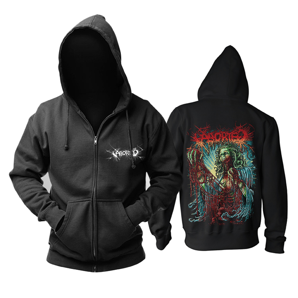 949f7c9b1dc3 Detail Feedback Questions about ABORTED Coronary Reconstruct Hoodie Grind  Death Heavy metal 100% cotton black new Hoodie on Aliexpress.com