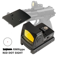 Airsoft Tactical Mini RMR Reflex Red Dot Sight 3.25 MOA Scope Glock Rifle Scopes Air Gun Shooting Hunting Accessories