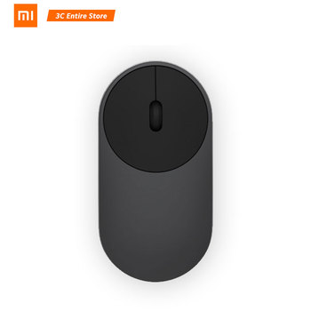 Original Xiaomi Mi Wireless Mouse Portable Game Mouses Aluminium Alloy ABS Material 2.4GHz WiFi Bluetooth 4.0 Control Connect