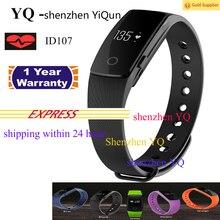 YQ ID107 Smart Armband Touchscreen tragbare geräte digital-uhr cicret sport smartwatch Bluetooth 4,0 für ios/android tragen