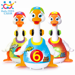 Huile toys 828 baby toys electric hip pop dance read tell story interactive swing goose kids.jpg 250x250