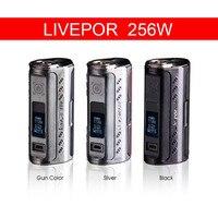 Yosta Livepor 256 Box Mod Electronic Cigarette 256W Vape Mod Triple 18650 Batteries Not Include