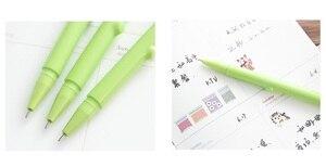 Image 5 - 35 adet/grup Sevimli koala ayı jel mürekkep kalemler yazma Karikatür siyah kalem 0.5mm Kawaii kırtasiye Ofis Okul malzemeleri FB719