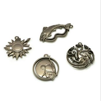 Game of Thrones Daenerys Targaryen Metal Family Sign Necklace Pendant Key Buckle Brooch Suit