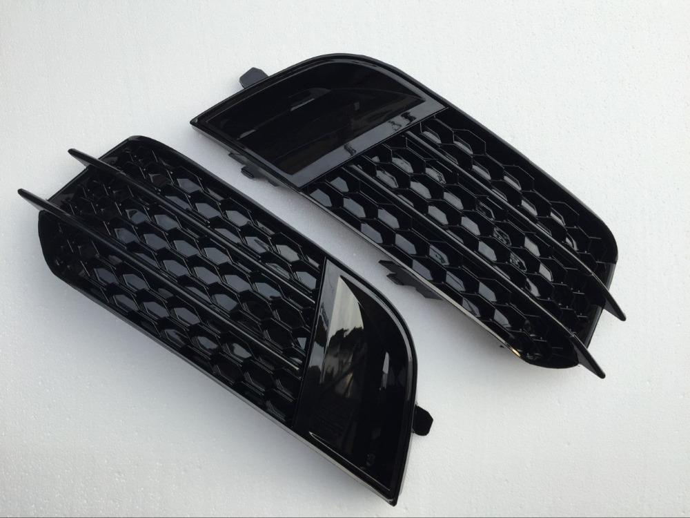 Racing Grills Abs Honeycomb Grill Front Grille For Audi A1 S1 Rs1