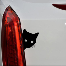 4PCS Car Stickers Cat Face Reflective Motorcycle stickers Auto products Body Accessories