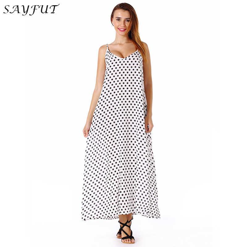 ... New Casual Women Long Dress Loose Summer Holiday Dress Fashion Bohemian  V-neck Big Swing ... 72bd84b40