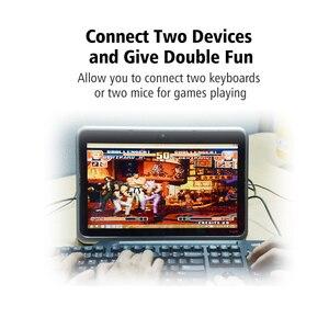 Image 5 - Ugreen kabel USB na PS2 męski na żeński Adapter PS/2 konwerter przedłużacz do klawiatury mysz skanująca pistolet PS2 na kabel USB