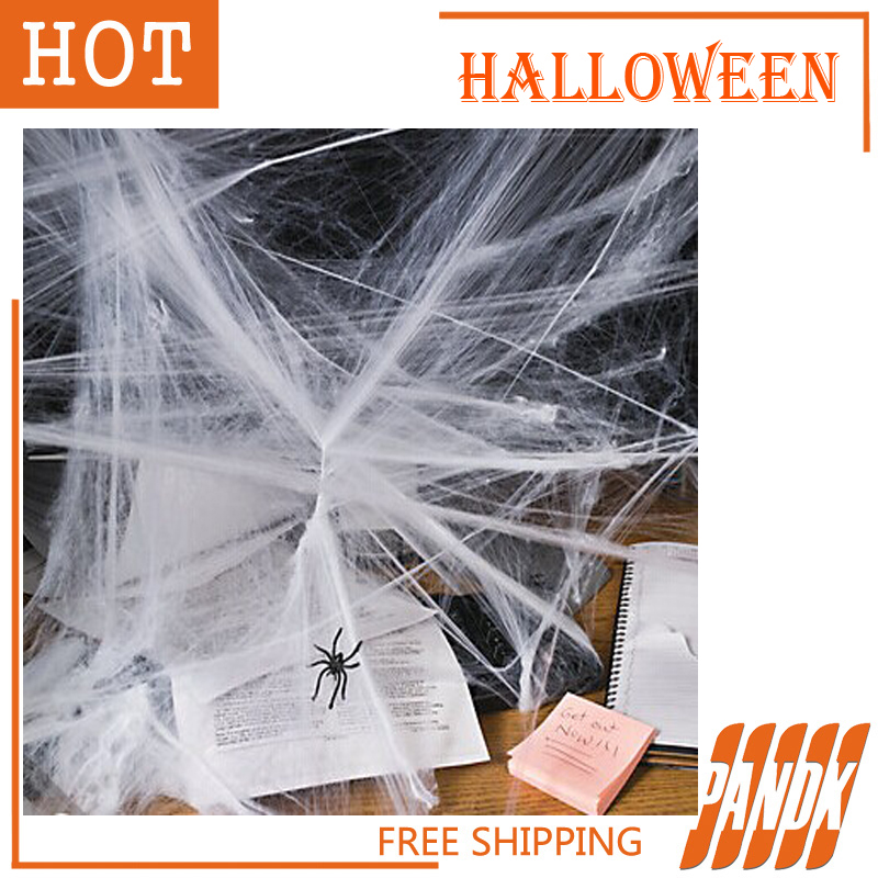 buy three give one as gift spider web halloween stretchable spider webs halloween decorations props haunted
