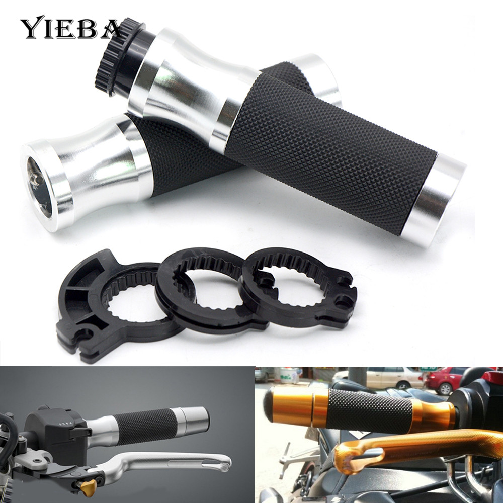 For DUCATI ST2 ST4/S/ABS 748/750SS 900SS/1000SS 996/998/B/S/R Motorcycle Handle Grip 22mm 7/8 Handles Bar Hand Handlebar Grips