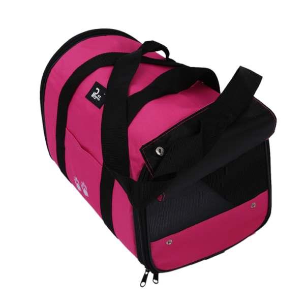 M Pet Dog Cat Portable Travel Carrier Tote Bag Crates Shoulder Bag Handbag Easy Carry Pet Bag Rose Red 36 25 22cm in Dog Carriers from Home Garden