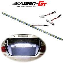 Tira de luz LED superbrillante para maletero de coche, iluminación Interior para área de carga, compartimento de equipaje, azul hielo/Blanco/azul, 18-SMD