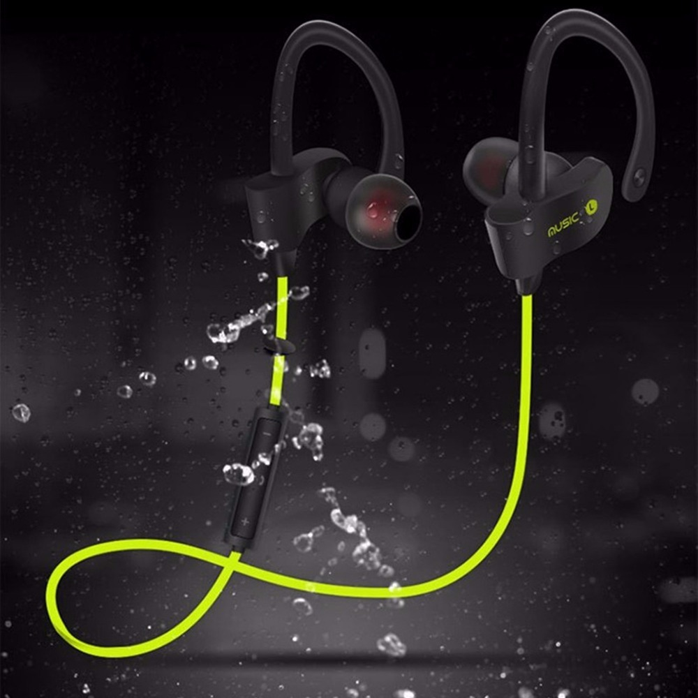 Sports Wireless Bluetooth Earphone Stereo Earbuds Headset Bass Earphones with Mic In-Ear for iPhone 6 Samsung Phone New cyboris sports wireless bluetooth earphone stereo earbuds headset bass headphones with mic in ear for iphone 7 for samsung s8