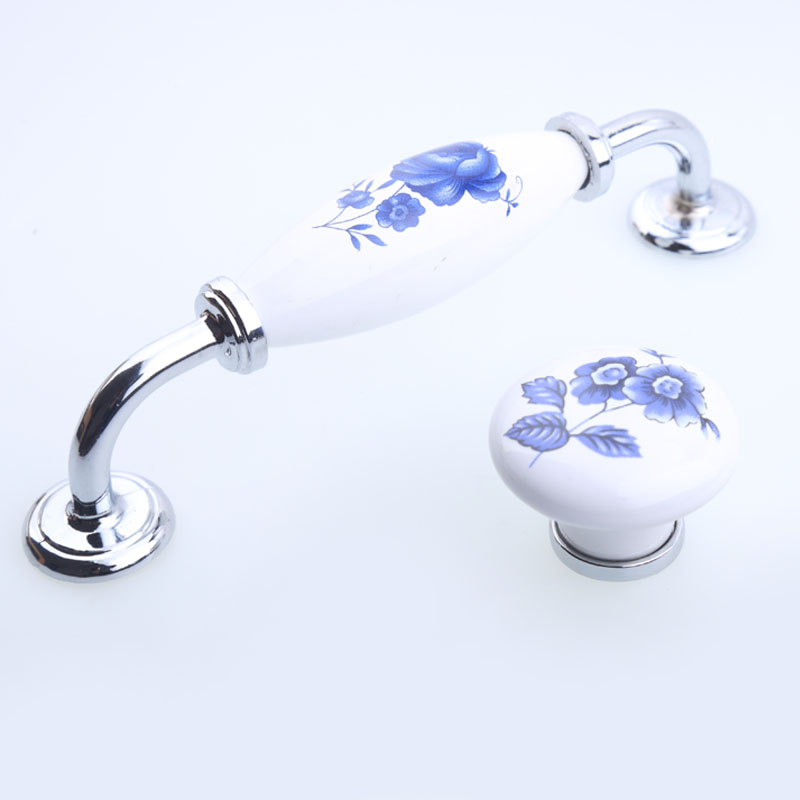 128mm modern rural white and blue porcelain wardrobe kitchen cabinet door handles silver chrome drawer tv table knobs pulls 5 culture and modern contraceptive behaviour in rural ashanti ghana