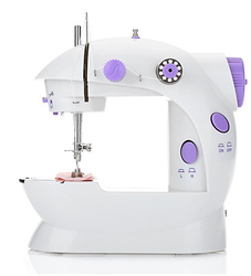 2018 Mini Portable Handheld sewing machines Stitch Sew needlework Cordless Clothes Fabrics Electrec Sewing Machine Stitch Set 16