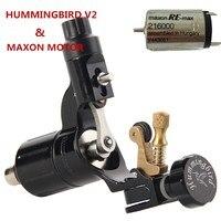 Original Hummingbird V2 Maxon Motor Rotary Tattoo Machine For Professional Tattoo Artists