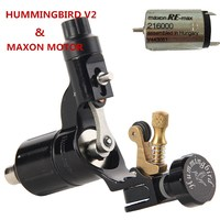 Original Hummingbird V2 Maxon Motor Rotary Tattoo Machine For Professional Tattoo Artists