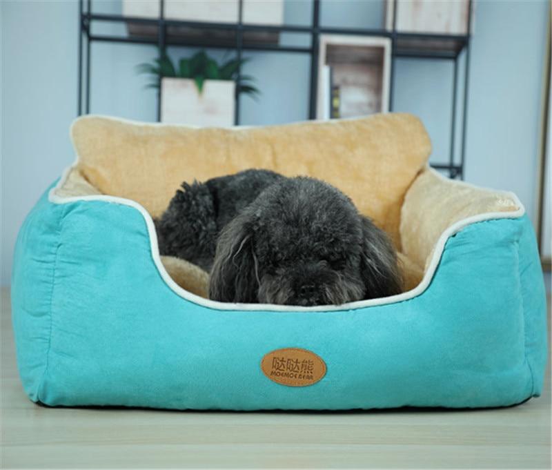 Самосогревающая кошка и собачья подстилка подушка для средних больших собак
