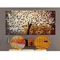 Money Tree Round Diamond Drill Painting 3D DIY Mosaic Diamond Embroidery Painting Wall Art Special Shaped