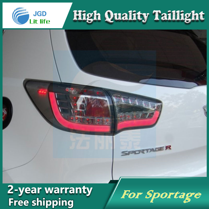Car Styling Tail Lamp for Kia Sportage 2012 2013 Tail Lights LED Tail Light Rear Lamp LED DRL+Brake+Park+Signal Stop Lamp for kia sportage r led tail lamp