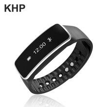 2016 original khp marca pulseira para iphone ios android com pedômetro relógio do telefone inteligente lembrar ip67 banda pulseira de fitness(China (Mainland))