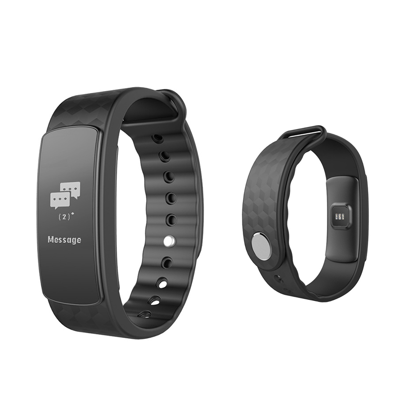 Sport Smart Wristband Waterproof IP67  Heart Rate Monitor Pedometer Health Touch Screen Fitness Tracker Bracelet For IOS Android(China)