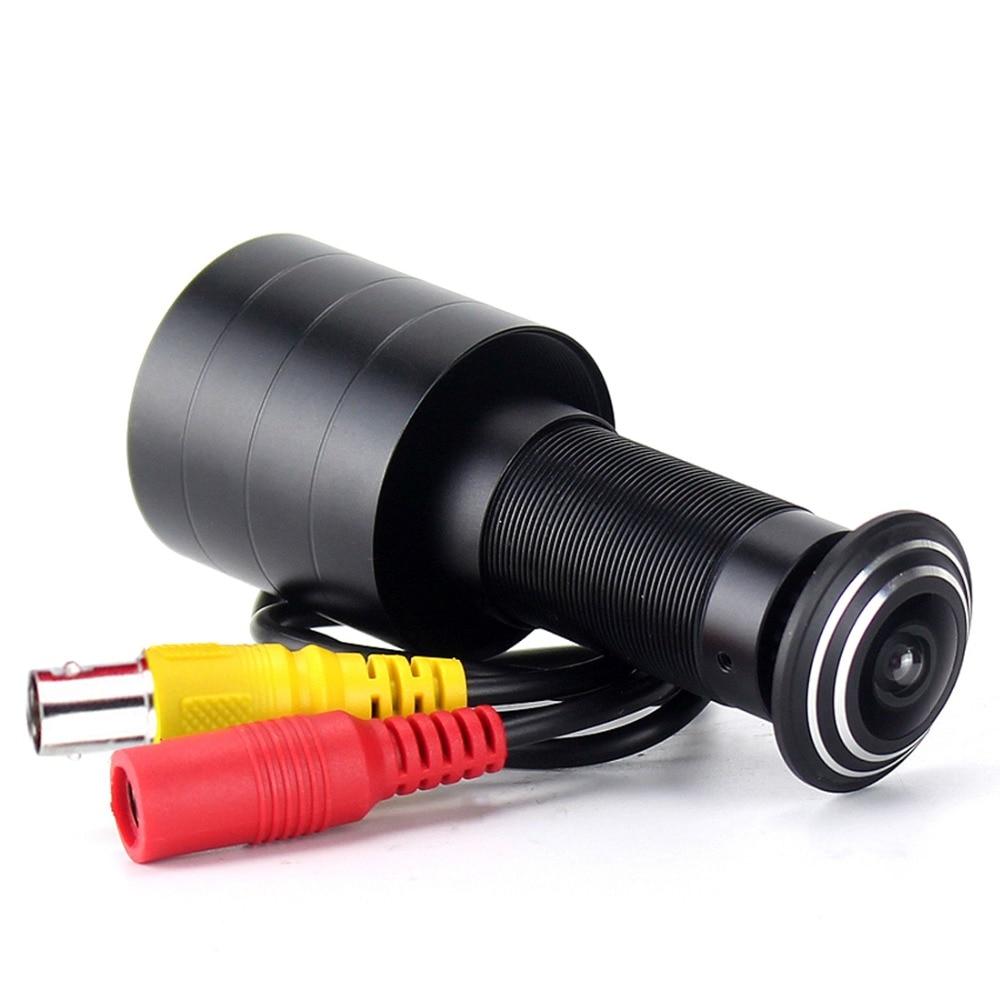 1000TVL Mini Door Eye Hole Camera Sony CCD Fisheye 1.7mm Wide Angle Lens Peephol